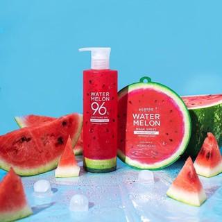Gel dưỡng da đa năng chiết xuất dưa hấu Holika Holika Watermelon 96% Soothing Gel 390ml_19151 1
