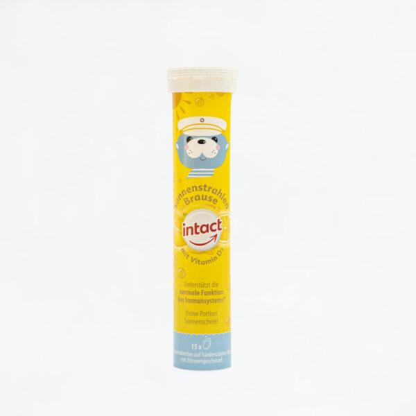 Viên Sủi Bổ Sung Vitamin D3 Tăng Cường Hấp Thụ Canxi Intact 1