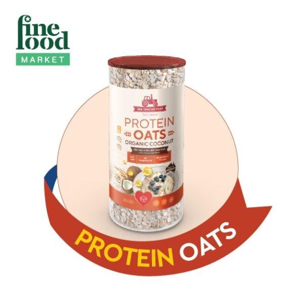 Yến Mạch Ăn Liền Giàu Đạm Vị Dừa Protein Oats Red Tractor Foods 1