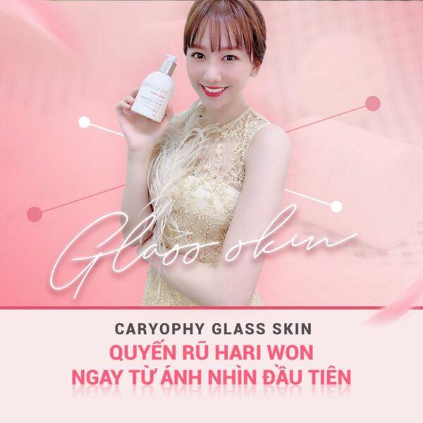 Kem dưỡng trắng da Body Caryophy Glass Skin 3 in 1 300gr 1