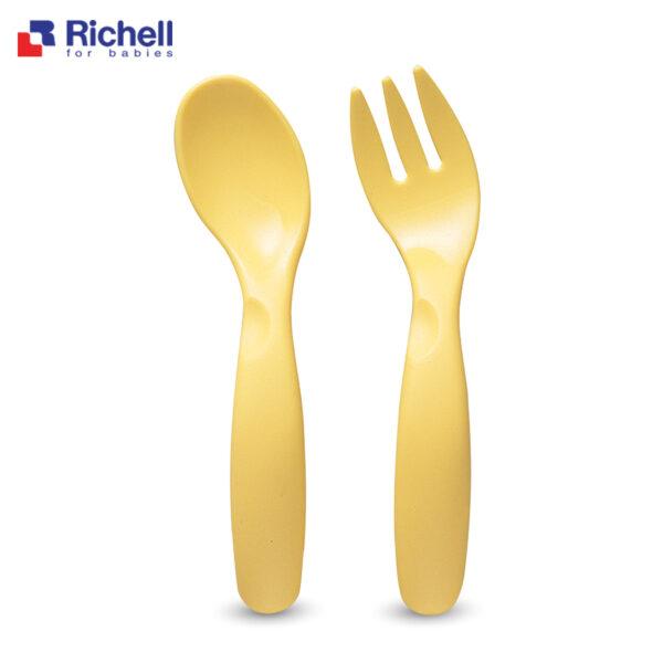 Bộ Thìa Dĩa Cong Richell 1