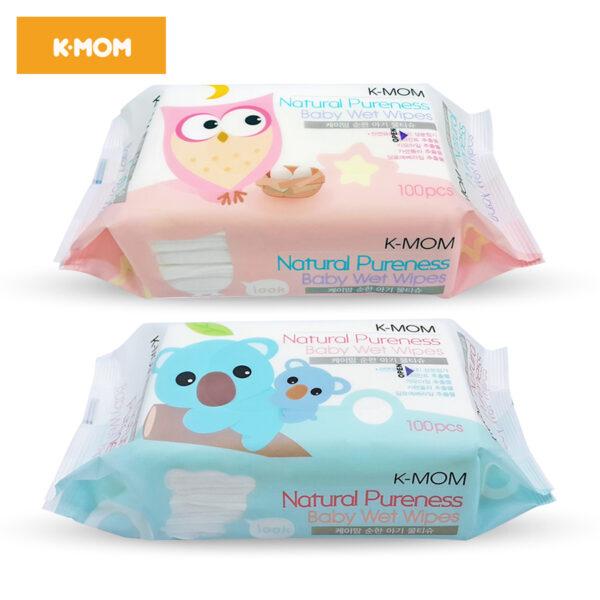 Khăn Ướt Cao Cấp K-Mom Hàn Quốc (100c) 1