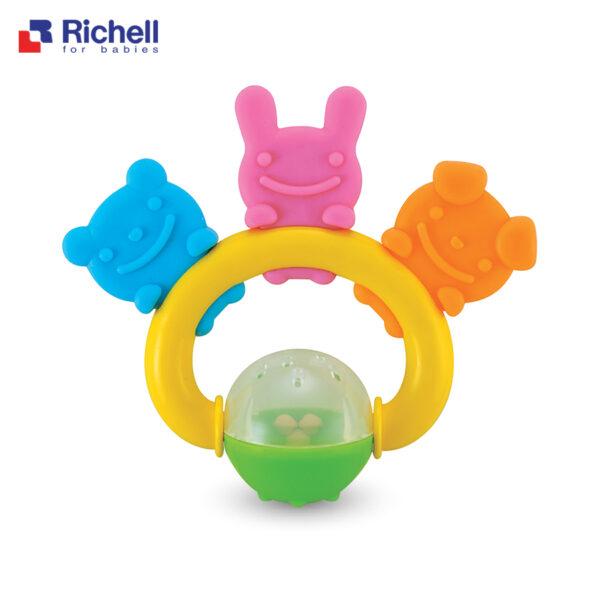 Xúc Xắc Gặm Nướu 3 Người Bạn Richell 1