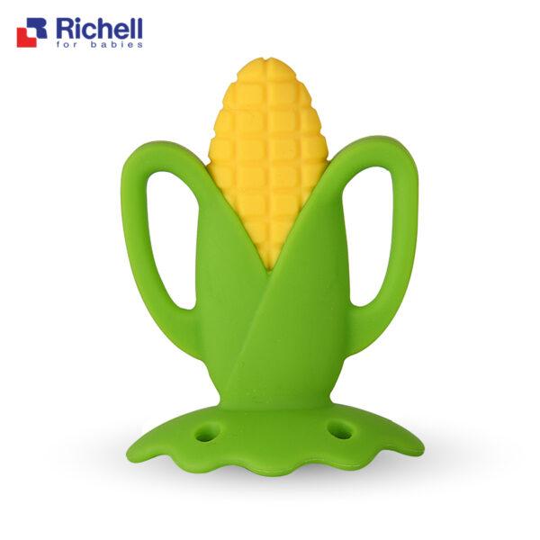 Gặm Nướu Silicone Có Hộp Hình Trái Cây Richell 1