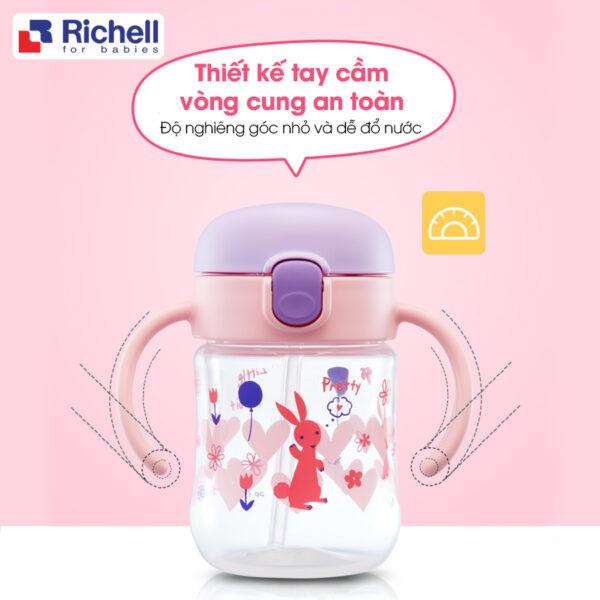 Cốc Tập Uống 2in1 T.L.I Richell Richell 1