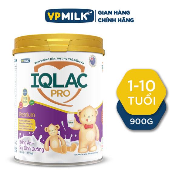 TPBS - SPĐ IQLac Pro Biếng ăn Suy dinh dưỡng Premium - 900g Dành cho trẻ từ 1 đến 10 tuổi 1