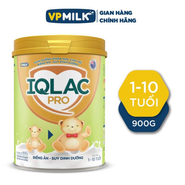 TPBS - SPĐ IQLac Pro Biếng ăn Suy dinh dưỡng 900g Dành cho trẻ từ 1 đến 10 tuổi 1