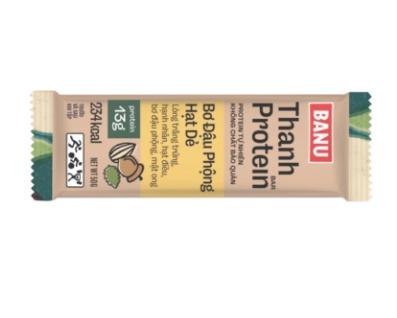 BANU - PROTEIN BAR: Bơ hạt dẻ đậu phộng - 365 Begin 1