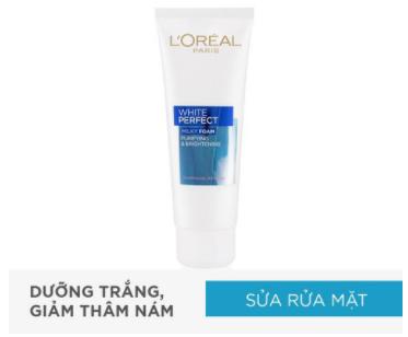 [Khuyến mãi tặng nước tẩy trang ] Sữa rữa mặt và Kem chống nắng Loreal 1