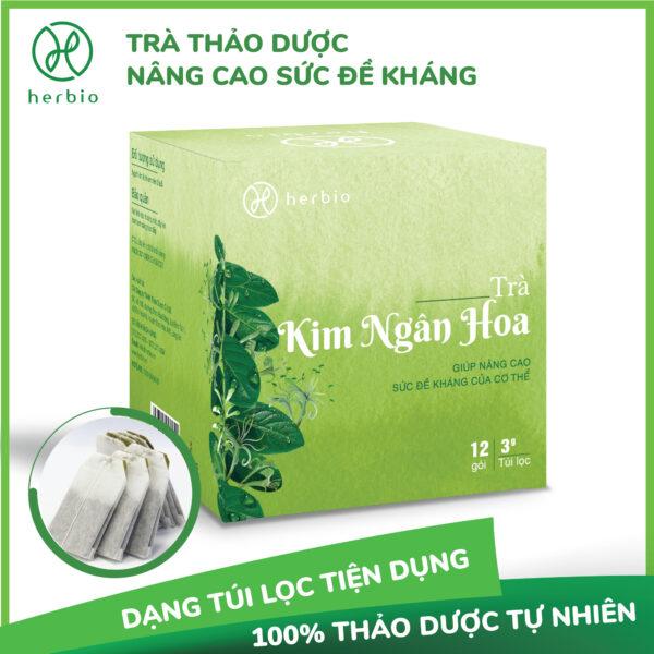 Trà Kim Ngân Hoa Herbio 1