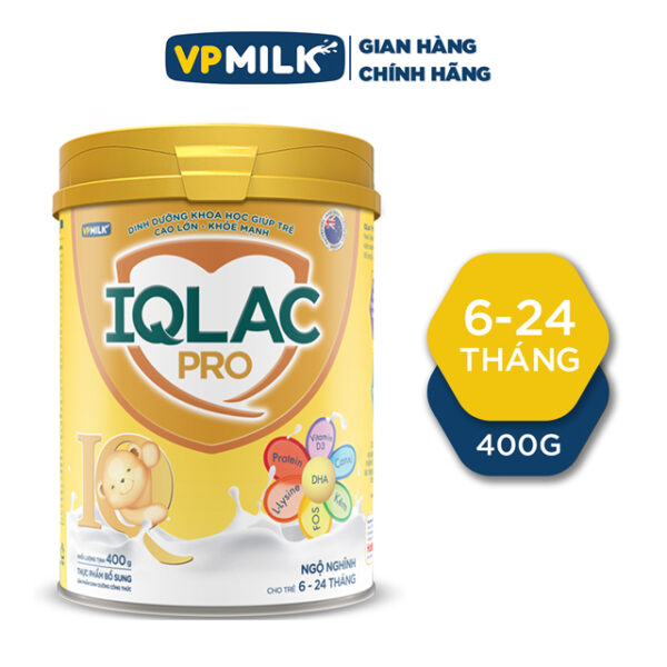 SPDD CT IQLac Pro Ngộ Nghĩnh - 400g Dành cho trẻ từ 6 đến 24 tháng 1