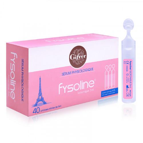 [Combo 2 hộp] Nước muối sinh lý Fysoline hồng 1