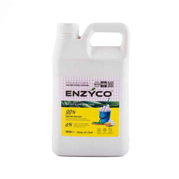 Nước Lau Sàn Sinh Học Enzyco - Can 1.8L 1
