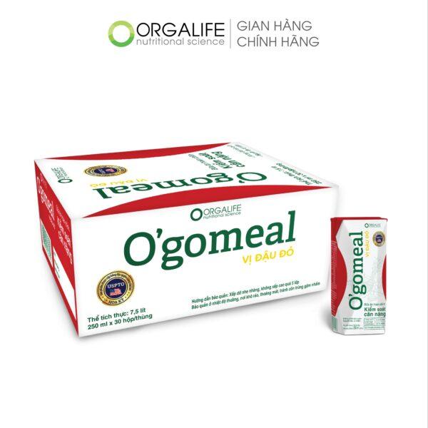 [Orgalife] Combo 5 Lốc Bữa Ăn Thay Thế O'gomeal Vị Gạo Kiểm Soát Cân Nặng 1