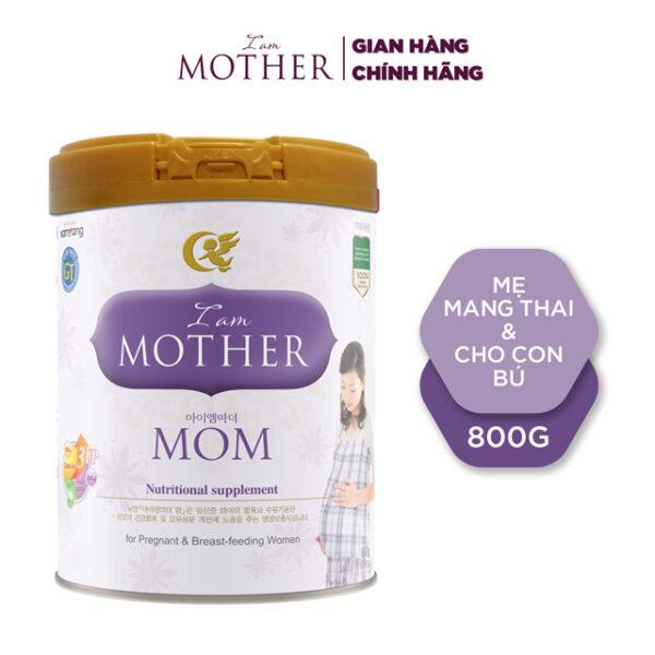 Sữa bột Iam Mother Mom GT - 800g Dành cho phụ nữ đang mang thai và cho con bú 1