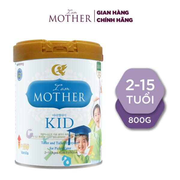 Sữa bột Iam Mother Kid GT 800gr Vani Dành cho trẻ từ 2 đến 15 tuổi 1