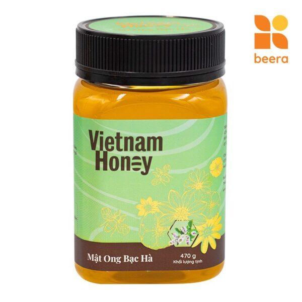 [BEERA] Mật Ong Bạc Hà 470g - Vietnam Honey 1