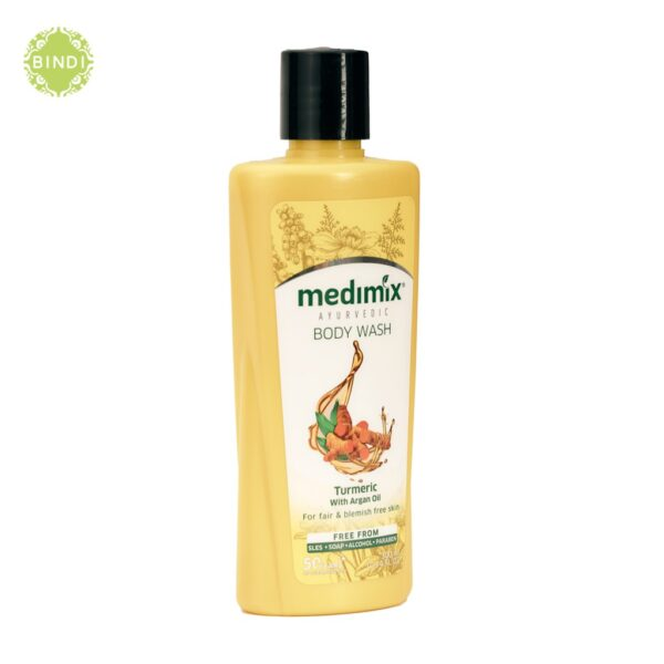 Sữa tắm Medimix Nghệ và dầu Argan 1