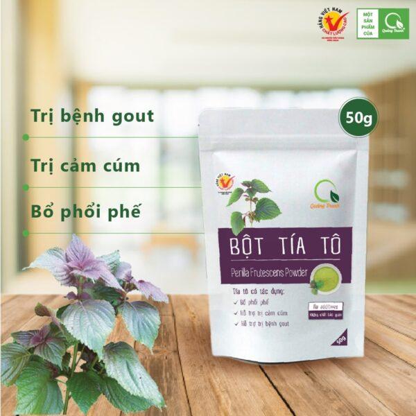 Bột Tía Tô 50g - Bột rau Quảng Thanh 1