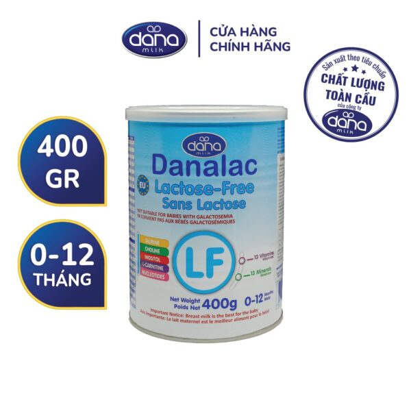 Sữa Công Thức Cho Bé Không Dung Nạp LACTOSE - Hộp 400g 1