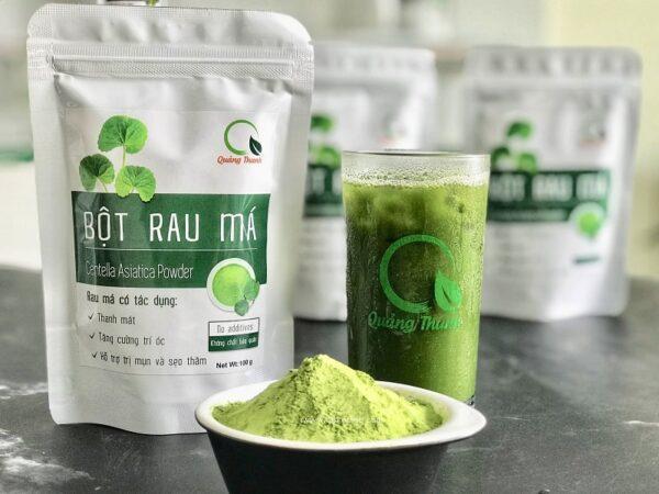Bột Rau Má 100g - Bột rau Quảng Thanh 1