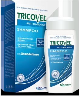 Dầu gội ngăn ngừa gàu Tricovel Anti-Dandruff Shampoo 200ml 1