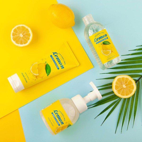 Bọt rửa mặt Holika Holika Sparkling Lemon Bubble Cleanser 300ml_18781 1
