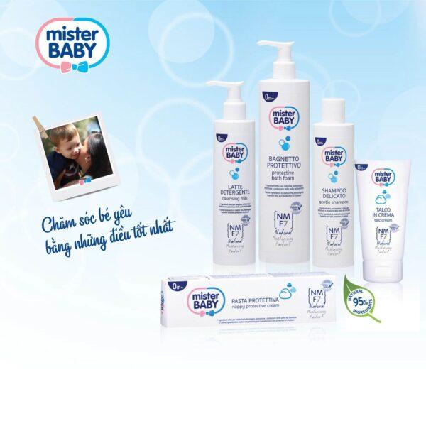 Dầu Gội Dịu Nhẹ Cho Bé Yêu Mister Baby Gentle Shampoo 250ml 1