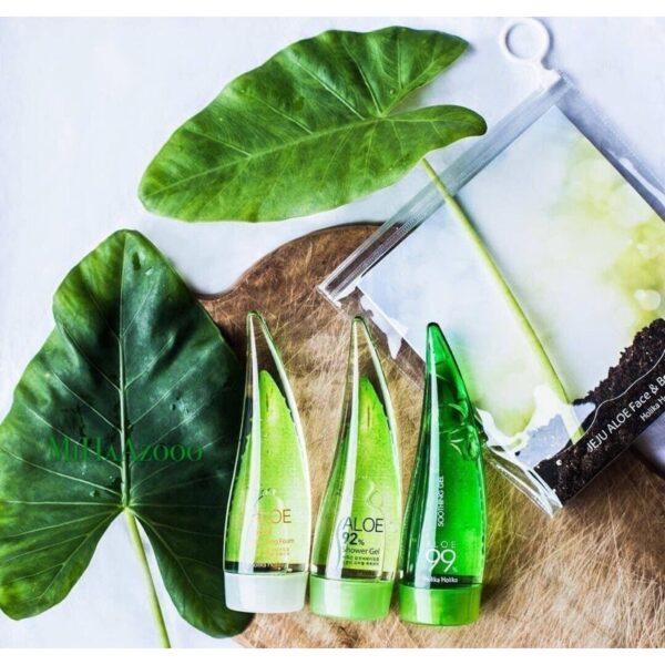Bộ 3 sản phẩm chăm sóc da mặt và cơ thể Holika Holika chiết xuất lô hội 55ml/chai_10297 1