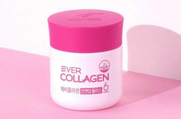 Viên uống phức hợp collagen đẹp da chống lão hóa Ever Collagen In&Up Plus (750mg x 84 viên) 1