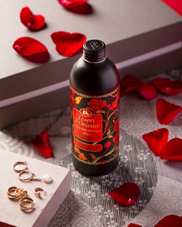 Sữa tắm nước hoa Hoa Trà Nhật Bản Tesori D'Oriente 500ml 1