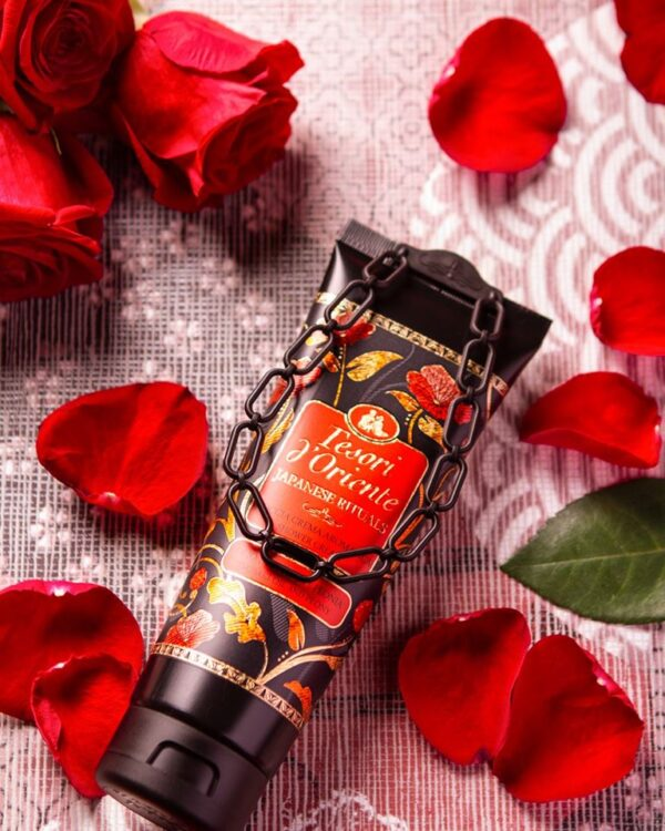 Sữa tắm nước hoa Hoa Trà Nhật Bản Tesori D'Oriente 250ml 1