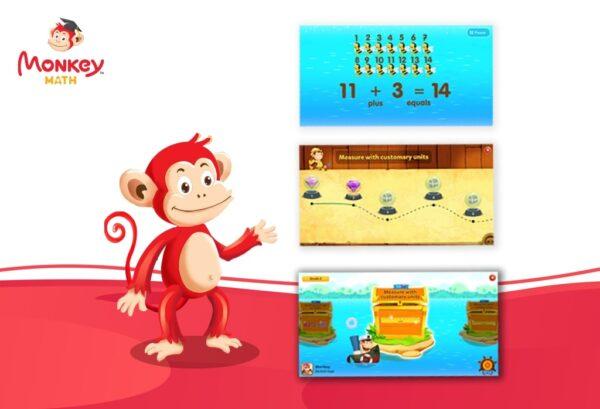 Monkey Math - Học Toán Theo Chương Trình GDPT Mới Cho Trẻ Mầm Non & Tiểu học (Gói trọn đời) 1