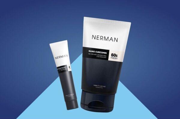 Nerman - Bộ trị mụn dành cho nam giới 1