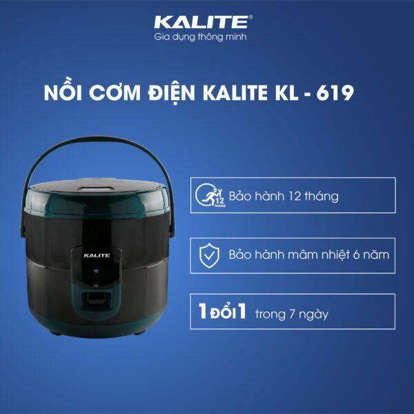 Nồi cơm điện KALITE KL-619 đa chức năng 1