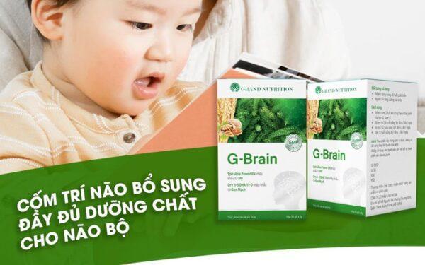 Cốm Trí Não G-Brain 1