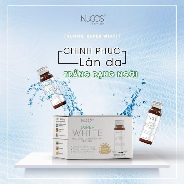Nước uống Collagen Nucos Super White 1