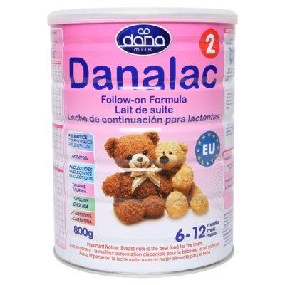 Sữa bột Danalac Follow-on Formula số 2 800g