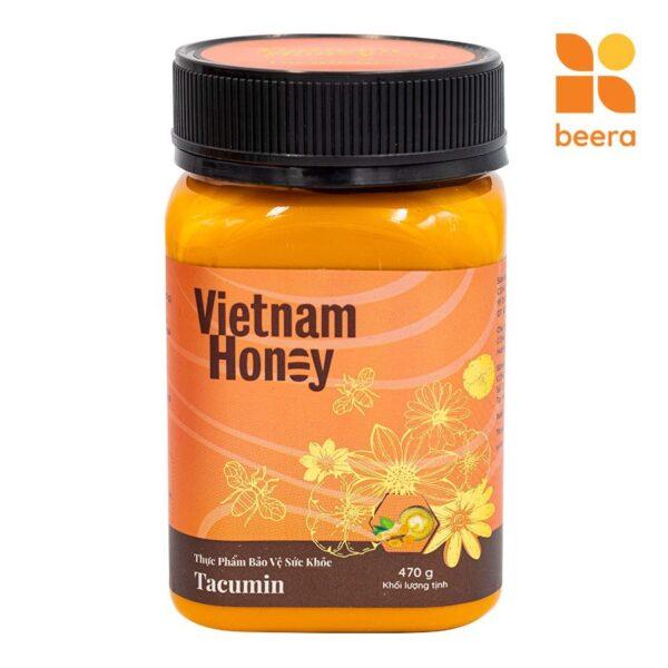 [BEERA] Mật Ong Tinh Nghệ Sữa Chúa Tacumin 470g - Vietnam Honey 1