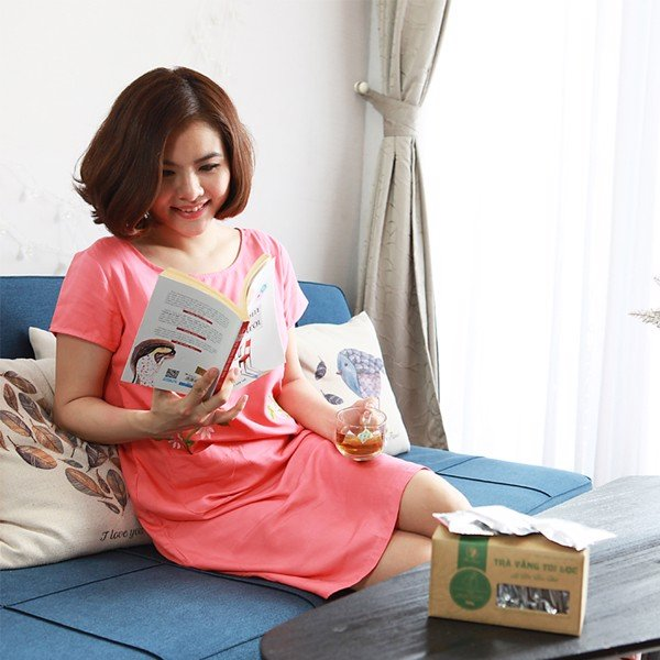 Trà vằng lợi sữa, giảm cân sau sinh Wonmom ( 20 túi/hộp) 1