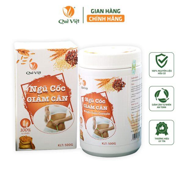 Ngũ Cốc Giảm Cân Quê Việt 500gr 1