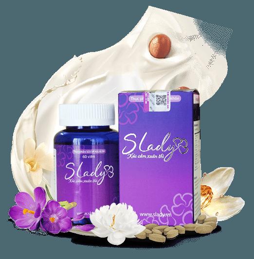 Viên uống Slady bổ sung nội tiết tố nữ (60 viên) 1