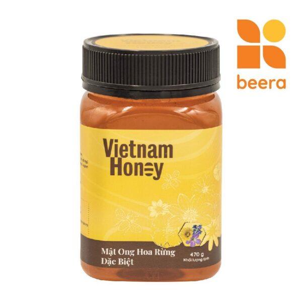 [BEERA] Mật Ong Hoa Rừng Đặc Biệt 470g - Vietnam Honey 1